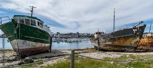 Billede på lærred Camaret, station balnéaire du Finistère en Bretagne, France.
