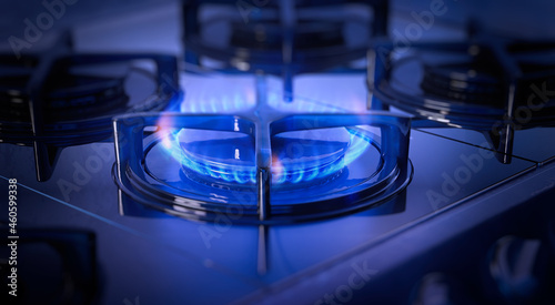 Fotografie, Obraz Energy crisis: Natural gas prices in Europe hit record
