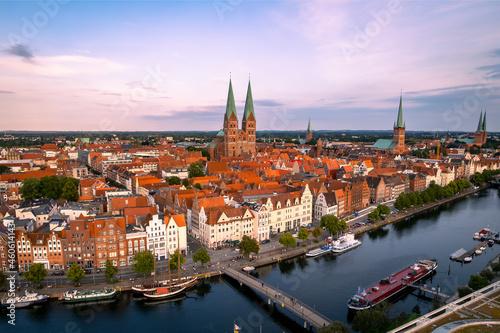 Fotografering city of lübeck