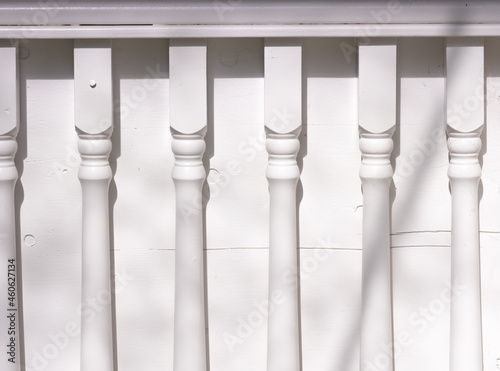 Fotografiet columns in a row