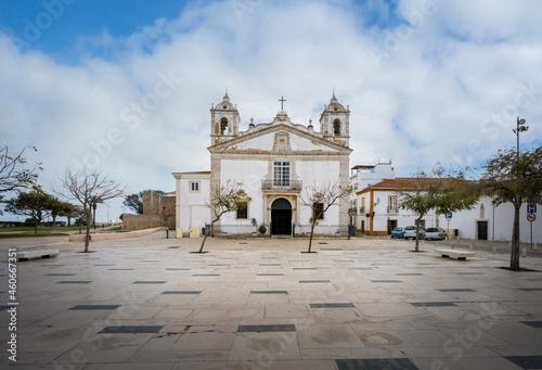 Fotografija Santa Maria de Lagos Church at Infante Dom Henrique Square - Lagos, Algarve, Por