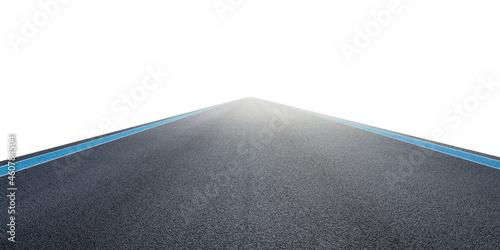 Canvas Empty asphalt international race track