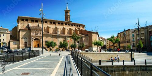 Photo Vista urbana de la ciudad de Barbastro, Huesca, Aragón.