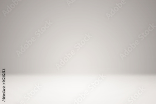 Empty studio, blank empty space room for showing, grey white abstract gradient background, blur 3D render podium stage texture, studio table backdrops display product design – stock vector