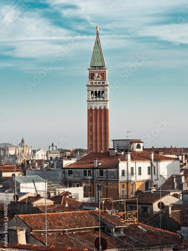 Fotografia campanile piazza San Marco