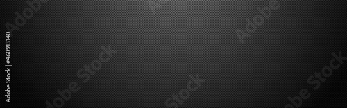 Carbon vertical wide. Dark fiber texture with shadow. Futuristic composite material. Realistic metal cloth. Modern technology backdrop. Vector illustration
