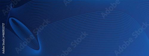 Billede på lærred Base grafica affari, copertina social, astratto, business, linee colorate su bas