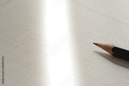 Fotografie, Obraz 原稿用紙と鉛筆