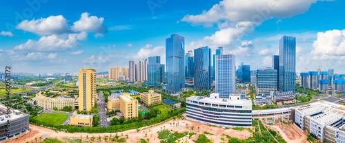 Urban scenery of CBD in Nanning, Guangxi, China