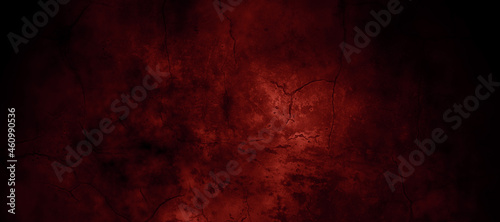 Tablou Canvas Dark Red horror scary background