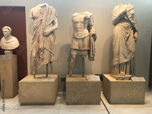 Canvas Print Musée archéologique de Thessalonique Macédoine Centrale Grèce