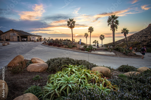 Fletcher Cove in Solana Beach CA Fototapet