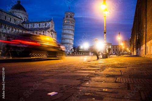 Fototapeta Pisa's Piazza dei Miracoli bei Nacht A310161