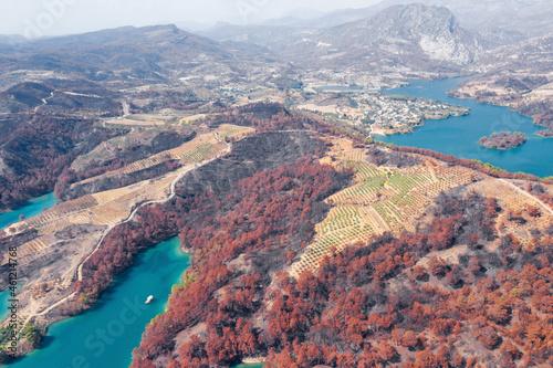 Obraz na plátně Fire in Turkey in 2021