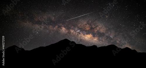 Fotografie, Obraz Panorama Milky Way