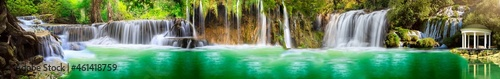 Fotografia, Obraz panorama of waterfalls and water