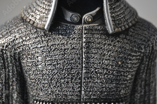 Fotografiet symbolic protection for a fighter through the Koran imprints on a combat robe