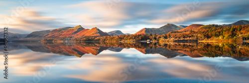 Fotografie, Obraz sunrise at Derwentwater, Keswick , the Lake District