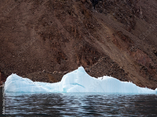 Canvastavla photos of mountains, sea ice, glaciers and oceans from the Canadian arctic