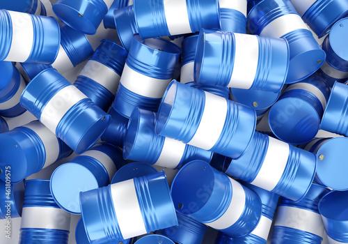 Tela Chemical barrels