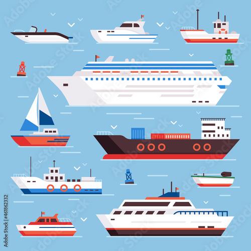 Fotografie, Obraz Sea ships