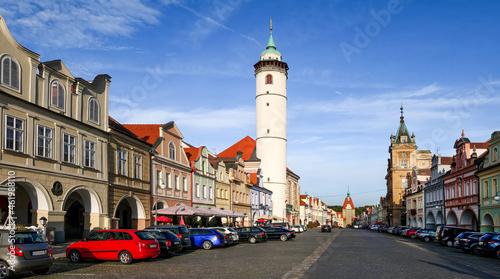 Canvas Domazlice (Taus) in Tschechien, Hauptstrasse