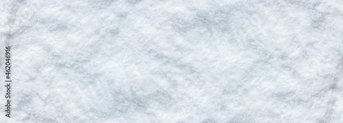 Obraz na plátně Background of fresh snow winter for design snowy white texture.