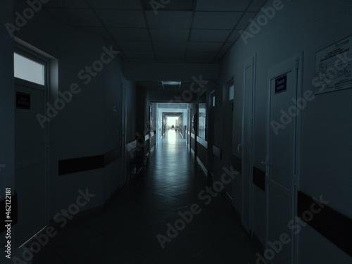 Fototapeta corridor in the corridor