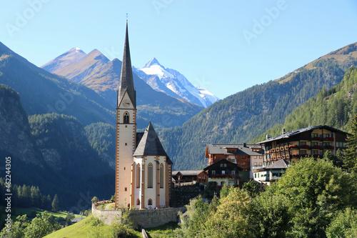 Billede på lærred Heiligenblut am Großglockner, Österreich