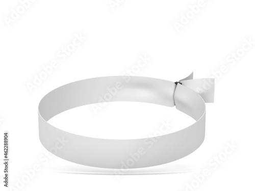 Valokuvatapetti Blank cloth wristband mockup