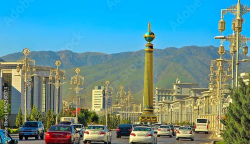 Canvas Modern architecture of Ashgabat
