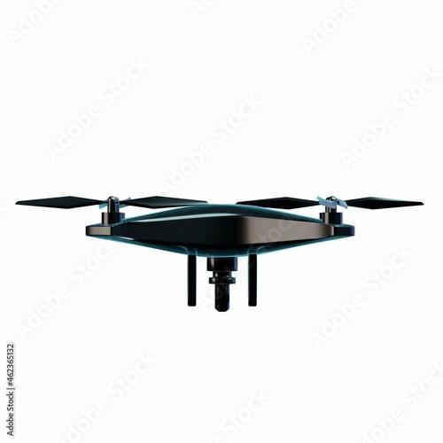 Fotografía 3D Drone Illustration