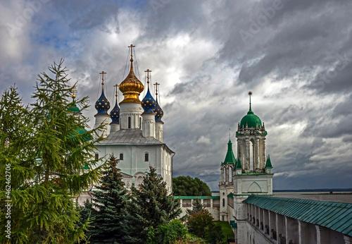 Fotografia, Obraz View to Spaso-Yakovlevsky monastery, city of Rostov, Russia