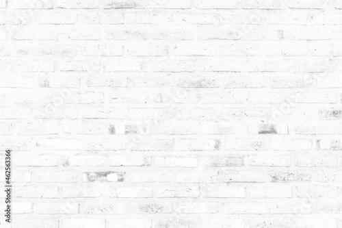 Canvas Print vintage white brick wall texture background