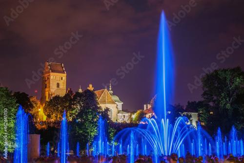 Multimedialny Park Fontann Podzamcze Warszawa