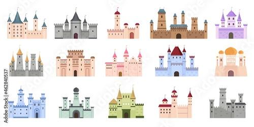 Canvas Print Medieval castles