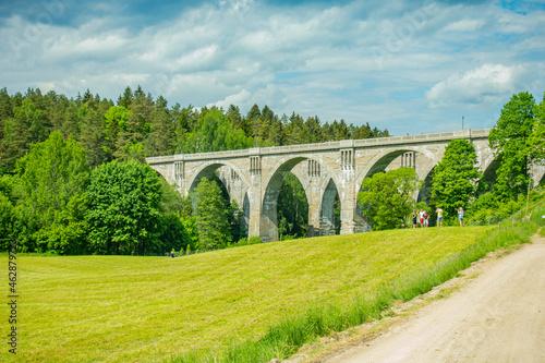 stańczyki most mosty wiadukt kolejowy kolejowe akwedukt tory pociąg kolej warmia mazury warmińsko-mazurskie