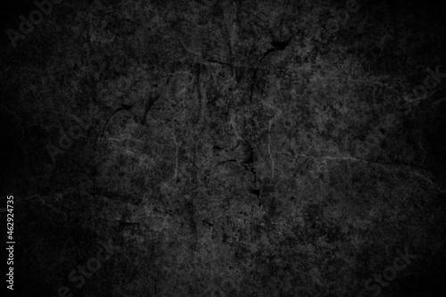 Tło, tekstura, ściana. Ciemna popękana ściana