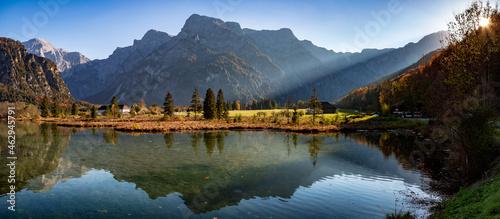 Fotografie, Obraz Almsee im Herbst