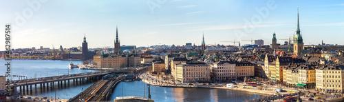 Billede på lærred Gamla Stan in Stockholm