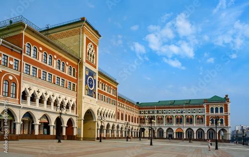 Fotografie, Obraz YOSHKAR-OLA, RUSSIA - 20 AUGUST, 2021: A building in the style of the Venetian D
