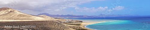 Fotografie, Obraz Paisaje de Fuerteventura, Las Palmas, Islas Canarias, España, Europa,