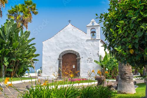 Obraz na plátně Kirche Kapelle Spanien Kanaren Teneriffa Puerto Cruz
