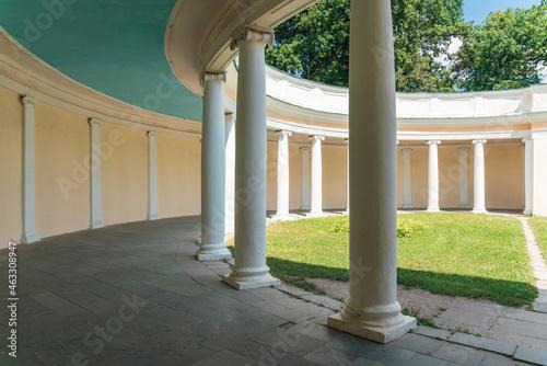 Tela Echo Colonnade in Alexandria Park, Bila Tserkva, Ukraine