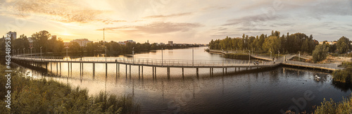 Valokuva The embankment of Lake Kaban in Kazan