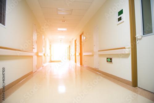 Fotografie, Obraz long corridor in the hospital.