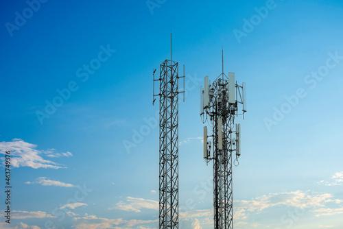 Tela 4G and 5G wireless communication antenna transmitter