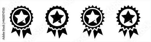 Fotografija Star Quality Badge icons set