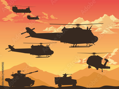 Tela war combat equipment