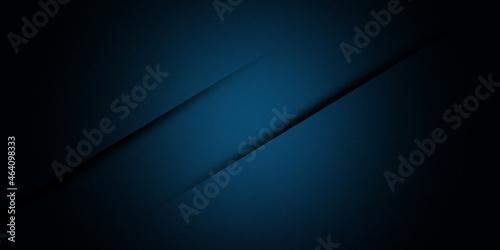 Fotografie, Obraz Abstract minimal navy blue cut wallpaper